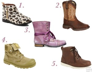#TrendyTuesday- The Hottest Boot Trends For The Littles!